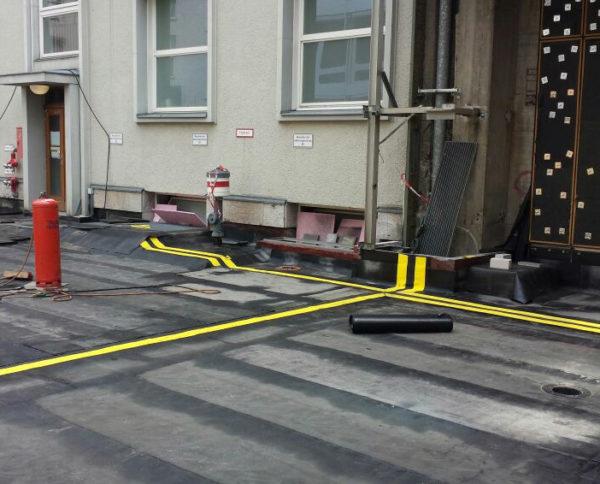 Foto på Migupren tätduk för takläggare